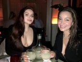 Ariel Winter Drinking a Margarita