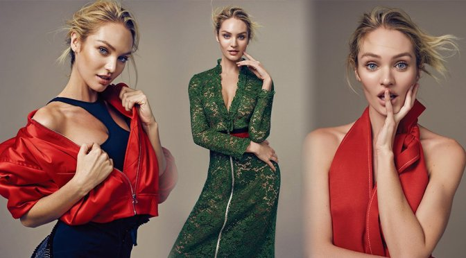 Candice Swanepoel – ELLE China Magazine Photoshoot (May 2016)