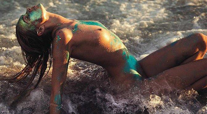 Elsa Hosk – Vogue Brazil Topless Photoshoot (May 2016) (NSFW)