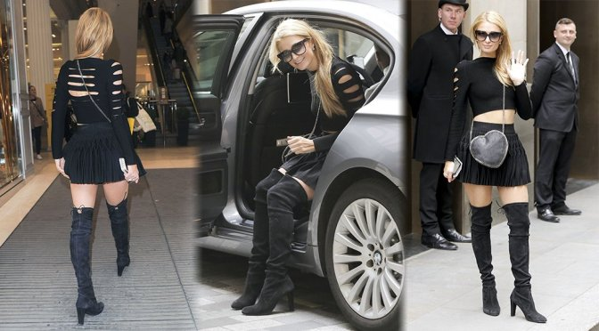 Paris Hilton – Candids in London