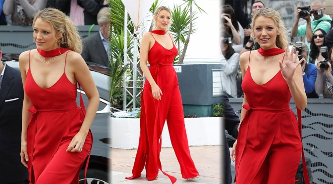 """Blake Lively – """"Cafe Society"""" Photocall in Cannes"""