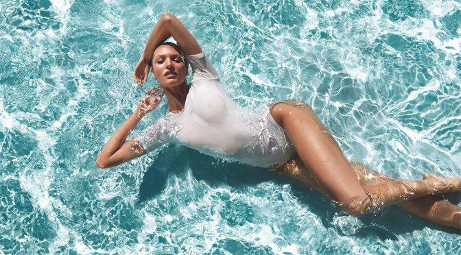 Candice Swanepoel - Biotherm Aqua-Gelée Photoshoot