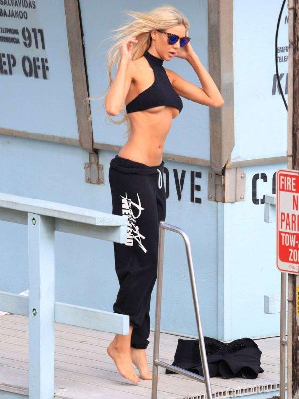 Daisy Lea – 138 Water Bikini Photoshoot in Malibu