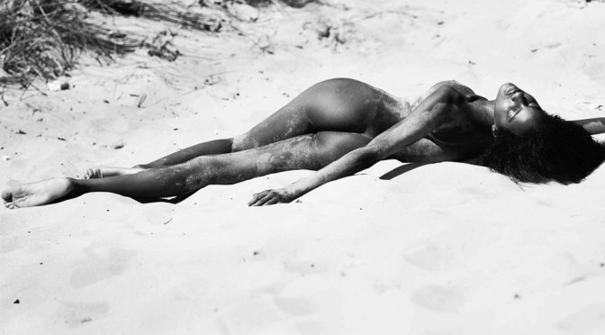Ebonee Davis – Naked Photoshoot by David Bellemere (NSFW)
