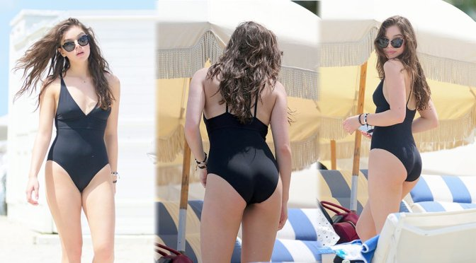 Hailee Steinfeld – Swimsuit Candids in Miami