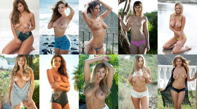 """Various Celebs – """"Page 3"""" Topless Photoshoot"""