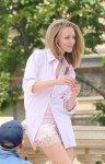 "Amanda Seyfried - ""Givenchy"" Photoshoot Candids in Paris"