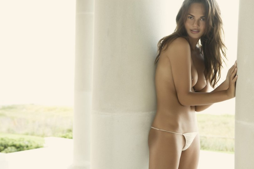 Chrissy Teigen - Naked Photoshoot by Dorian Caster