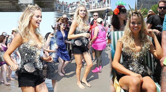 Hailey Clauson – 34th Annual Mermaid Parade in Coney Island