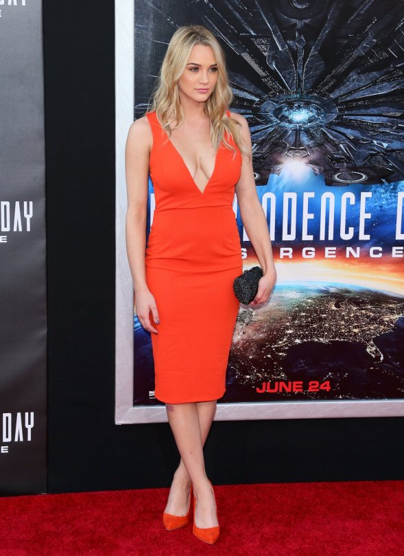 """Hunter Haley King - """"Independence Day: Resurgence"""" Premiere in Hollywood"""