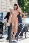 Kendall Jenner - Braless Candids in Paris
