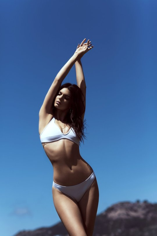 """Kendall and Kylie Jenner - """"Topshop"""" Swimwear Photoshoot"""