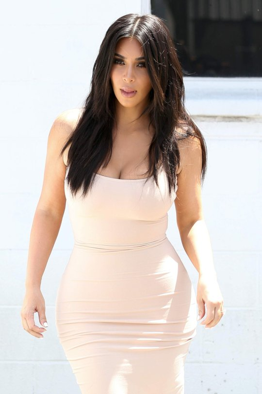 Kim Kardashian - Candids in Los Angeles