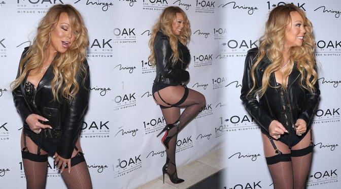Mariah Carey at 1 OAK Nightclub in Las Vegas