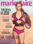 Marloes Horst - Marie Claire Italy Magazine Topless Photoshoot (July 2016)