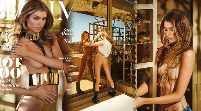 Stella Maxwell – Maxim Magazine Photoshoot (June/July 2016)