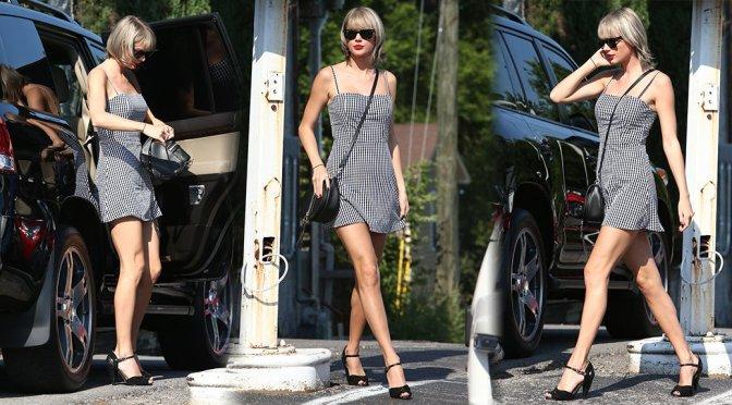 Taylor Swift – Leggy Candids in Nashville