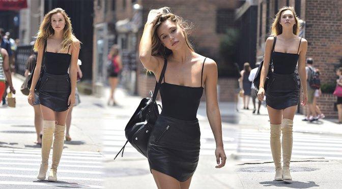 Alexis Ren – Candids in New York