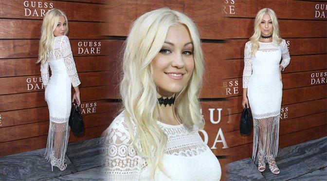 """Ava Sambora – """"Dare"""" Fragrance Launch in Los Angeles"""