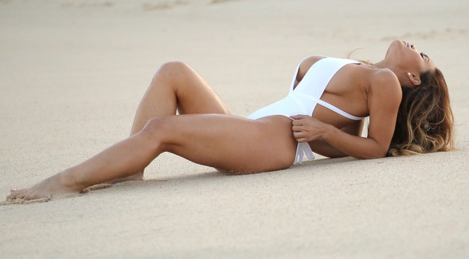 Daphne Joy – Swimsuit Candids in Cabo