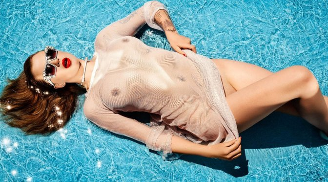 Ireland Baldwin – Treats Magazine Topless Photoshoot