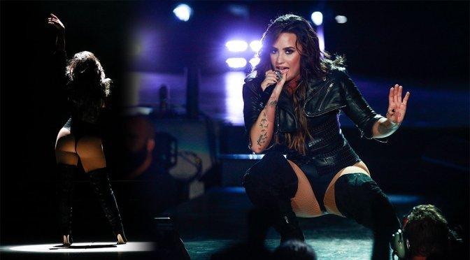 Demi Lovato Performs Live in California