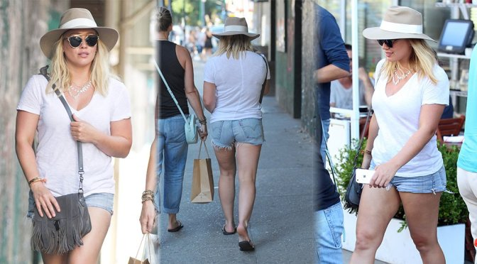 Hilary Duff – Candids in New York