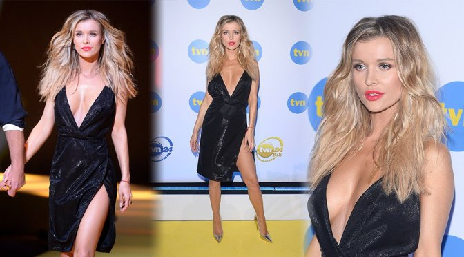 "Joanna Krupa – ""Top Model"" Event in Warsaw"