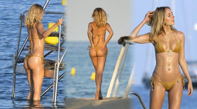 Kimberley Garner – Bikini Candids in St Tropez