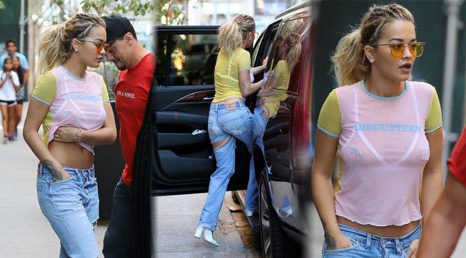 Rita Ora – Candids in New York