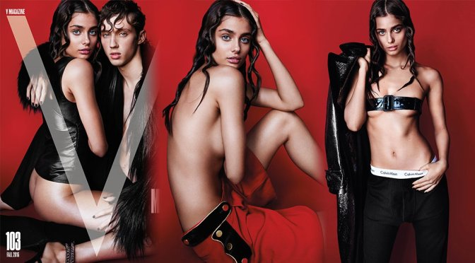 Taylor Marie Hill – V Magazine Photoshoot (September 2016)