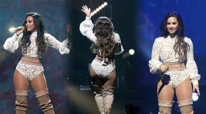 Demi Lovato Performs Live in San Antonio