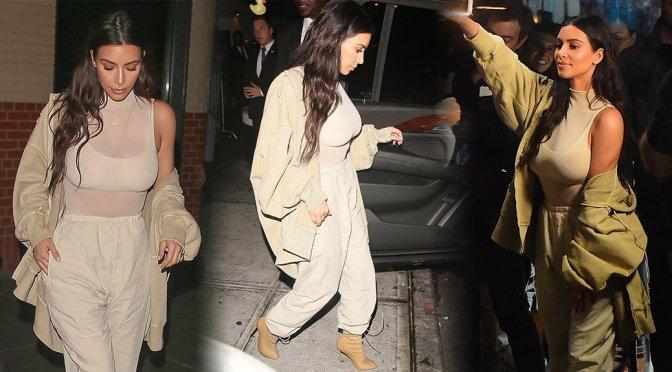 Kim Karashian – Kendall + Kylie Pop Up Shop Event in New York