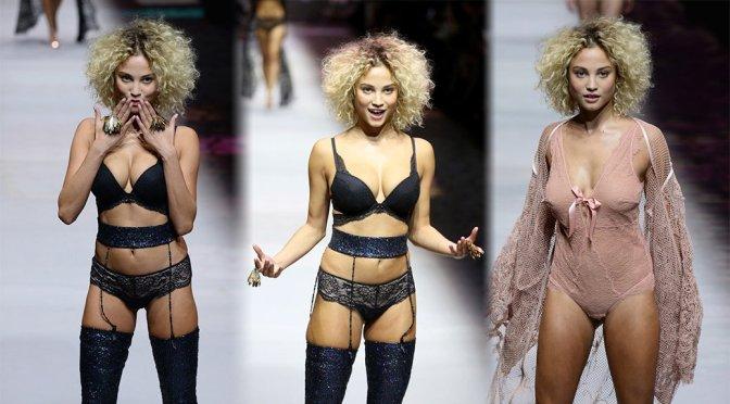 """Rose Bertram – """"Etam"""" Fashion Show in Paris"""