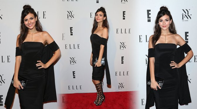 Victoria Justice – E! New York Fashion Week Kick Off at Santina in New York