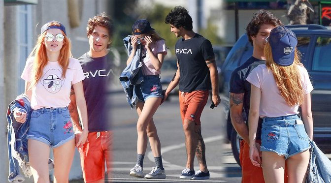 Bella Thorne – Leggy Candids in Studio City