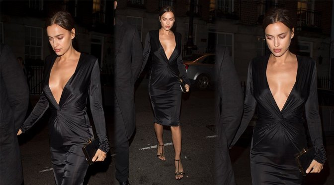 Irina Shayk – Edward Enniful VIP Party in London