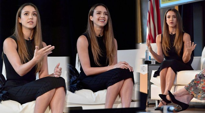 Jessica Alba – 2016 Forbes Under 30 Summit in Boston