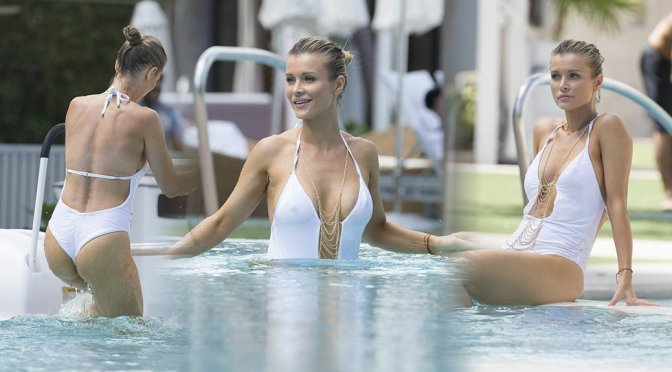 Joanna Krupa – Swimsuit Candids in Miami