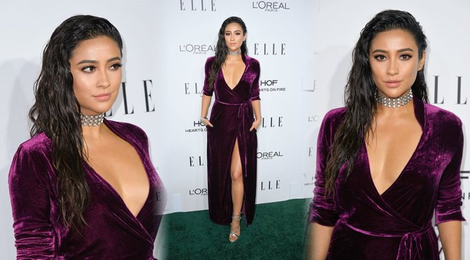 Shay Mitchell – 23rd Annual ELLE Women In Hollywood Awards in Los Angeles