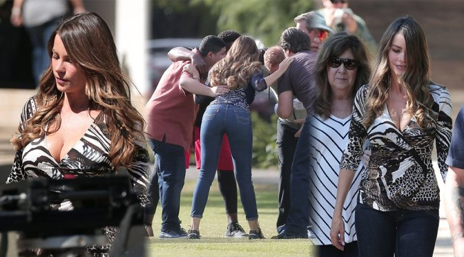 "Sofia Vergara on ""Modern Family"" Set in Los Angeles"