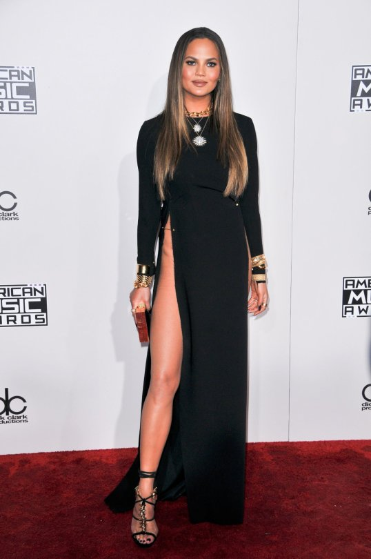 Chrissy Teigen - 2016 American Music Awards in Los Angeles