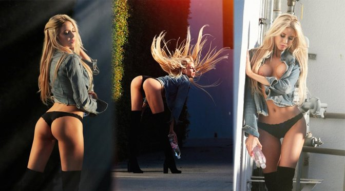 """Daisy Lea - """"138 Water"""" Topless Photoshoot Candids in Los Angeles"""