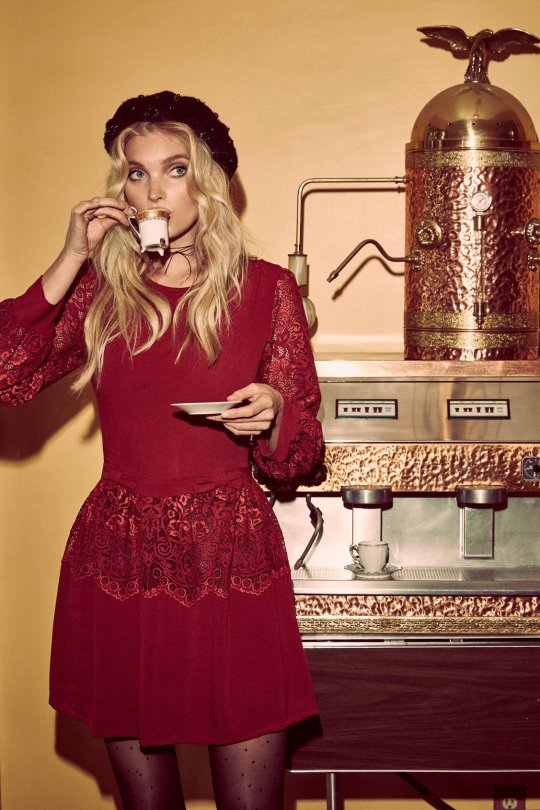 "Elsa Hosk - ""Love & Lemons"" 2016 Holiday Campaign Photoshoot"
