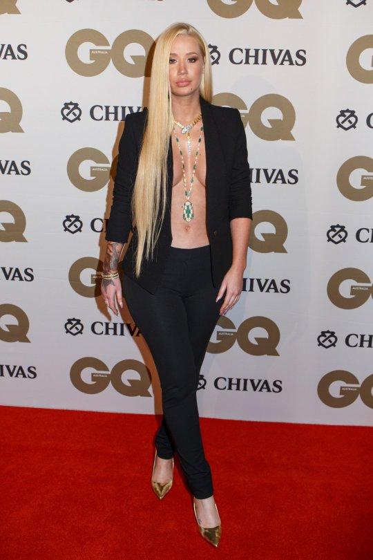 Iggy Azalea - GQ Men of The Year Awards in Sydney