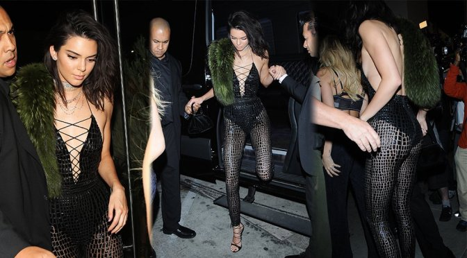 Kendall Jenner – 21st Birthday Party at Catch in Los Angeles