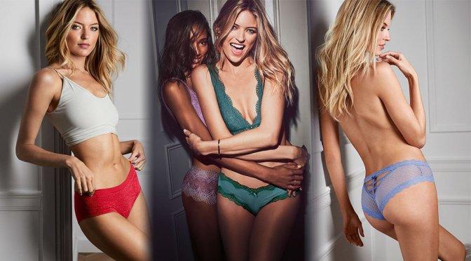 Martha Hunt - Victoria's Secret Lingerie Photoshoot