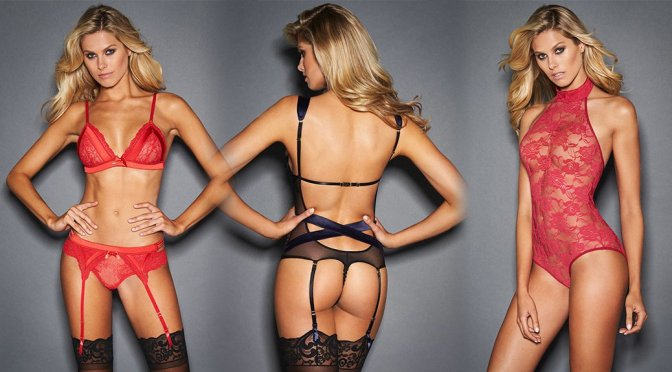 Natalie Roser - Frederick's of Hollywood Lingerie Photoshoot