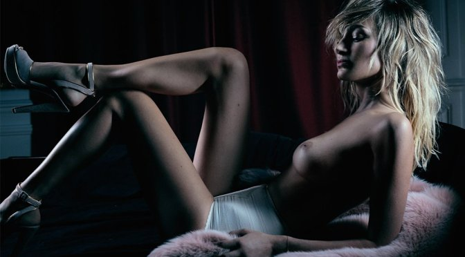 Pauline Lefevre – Lui Magazine Topless Photoshoot (November 2016)