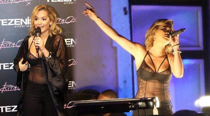 "Rita Ora – ""Tezenis"" Lingerie Presentation in Lisbon"